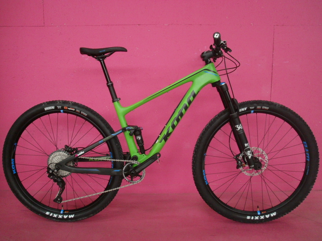 2017 KONA HEIHEI DL TRAIL CARBONE 29